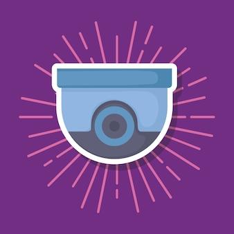Sicherheitskamera-symbol