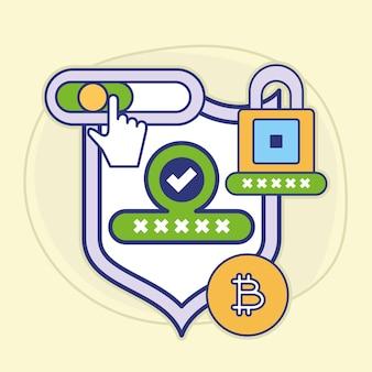 Sicherheitspasswort bitcoin