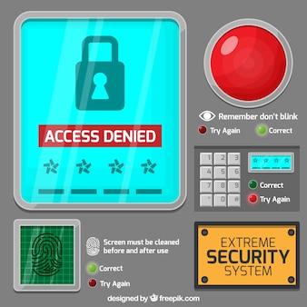 Sicherheitssystem hintergrund
