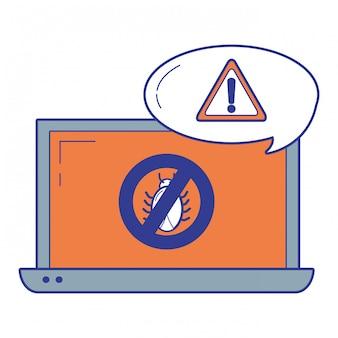 Sicherheitssystem und antivirus