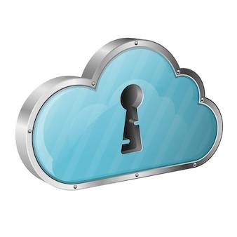 Sicherheitswolken-datenverarbeitungskonzept