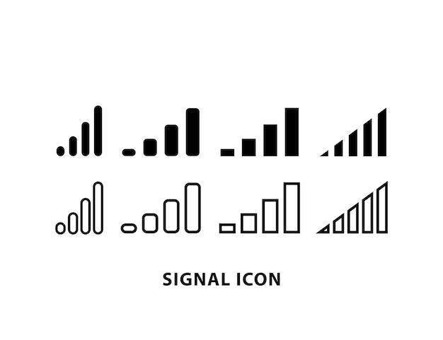 Signalsymbol-symbolleiste