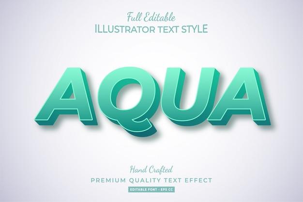 Silber metallic 3d text style effekt