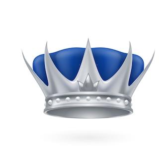 Silberne krone