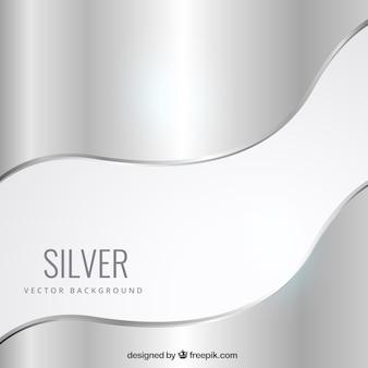 Silbernem hintergrund