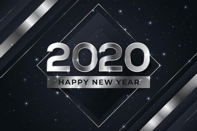 Silbernes neues jahr 2020
