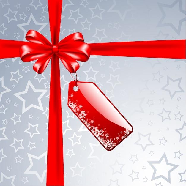 Silbernes weihnachtsgeschenk