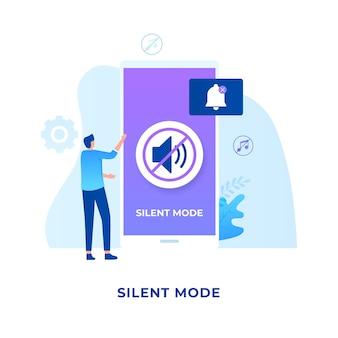 Silent-mode-konzept.