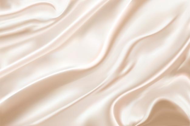 Silk hintergrund mit wellenbeschaffenheit.