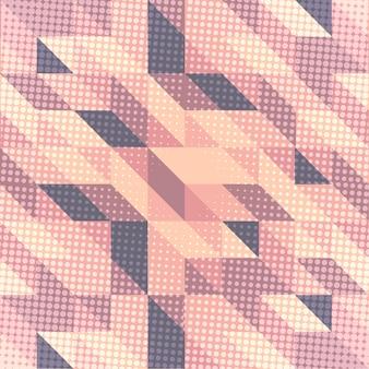 Skandinavischer arthintergrund in den rosa und purpurroten tönen