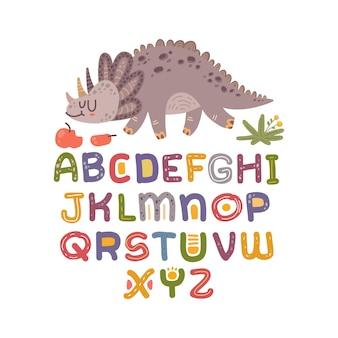 Skandinavisches alphabet set süße fantasie und clipart bunte sammlung isoliert el