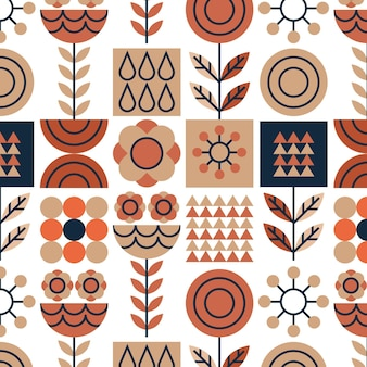 Skandinavisches designmuster