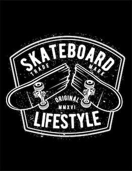 Skateboard-lebensstil