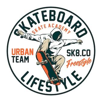 Skateboard lebensstil