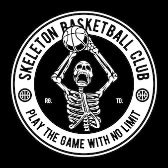 Skeleton basketballclub