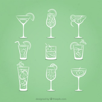 Sketchy cocktails symbole