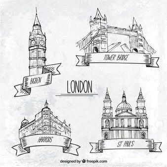 Sketchy london denkmäler