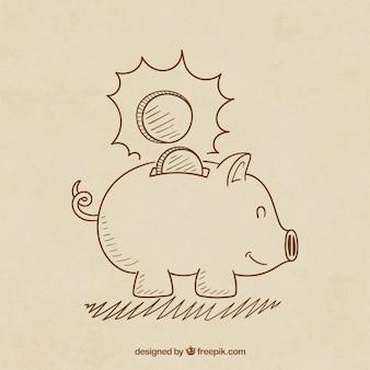 Sketchy sparschwein