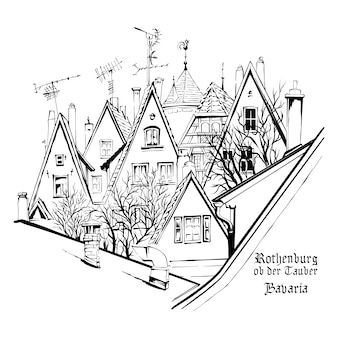 Skizze von bamberg