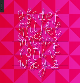Skript-alphabet