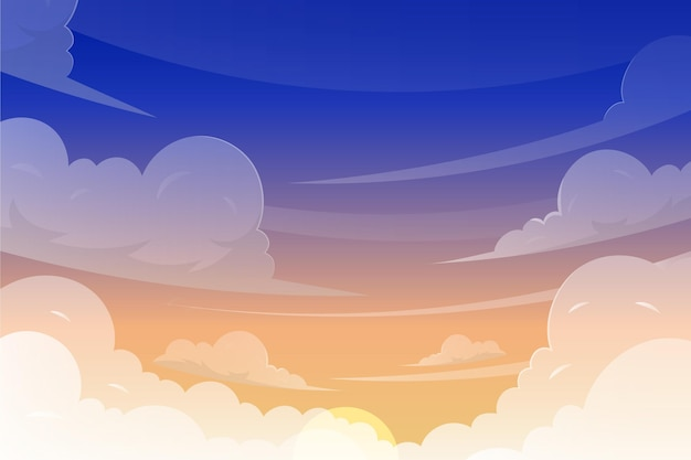 Sky - hintergrund für videokonferenzen