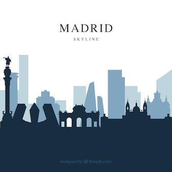 Skyline design von madrid
