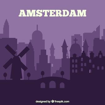 Skyline von amsterdam