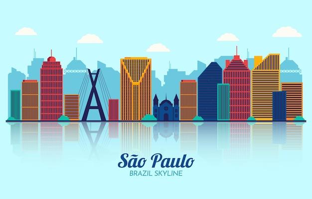 Skyline von sao paulo