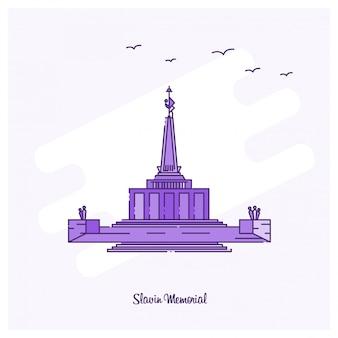 Slavin memorial wahrzeichen