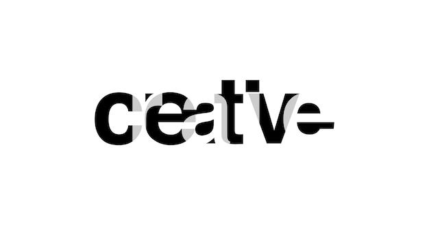 Slogan für t-shirt typografie überlappungsalphabet