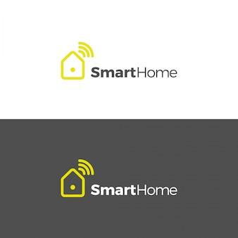 Smar home logo design