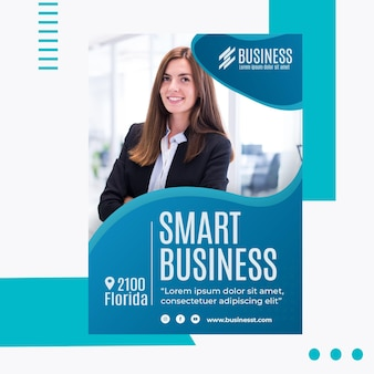 Smart business flyer vorlage