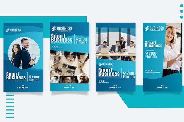 Smart business instagram geschichten vorlage