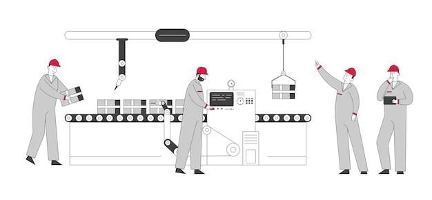 Smart factory-konzept