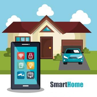 Smart home abbildung
