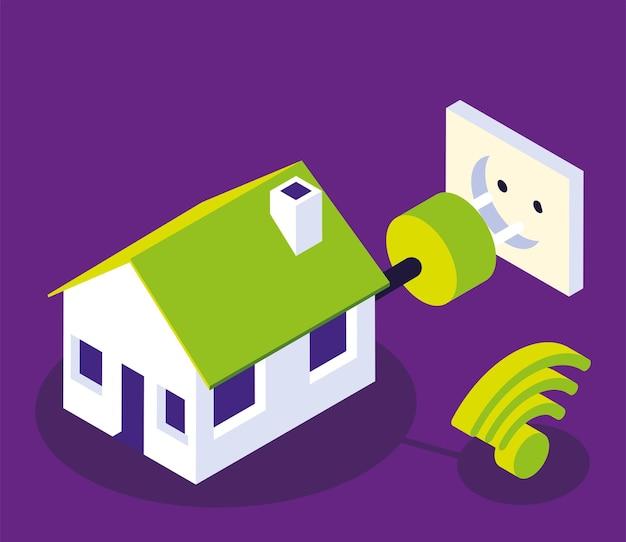Smart home energie internetsteuerung