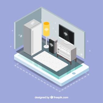 Smart home hintergrund