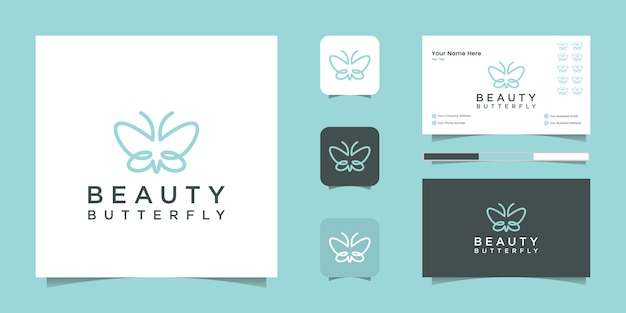 Smart home location logo design und visitenkarte
