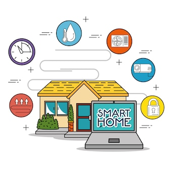 Smart-home-technologie-system