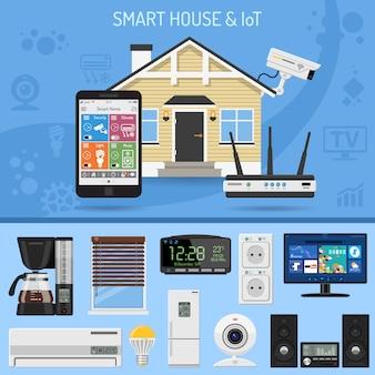 Smart house und internet der dinge
