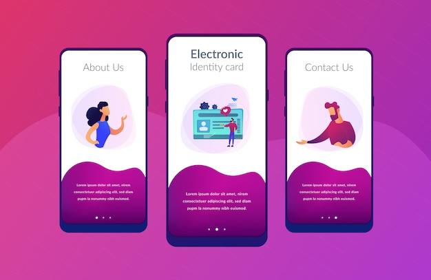 Smart id card app schnittstellenvorlage.