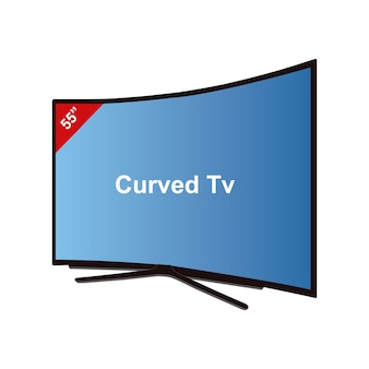 Smart tv curved-55 zoll