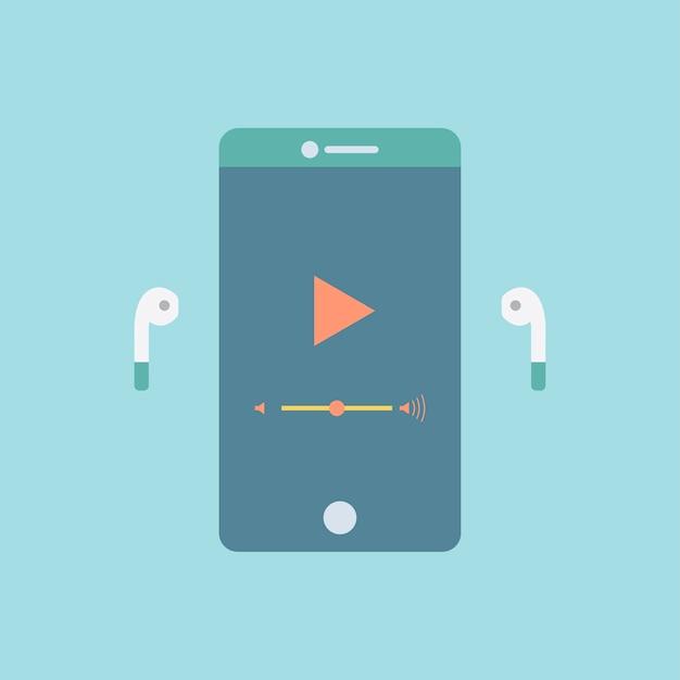 Smartphone-bildschirm