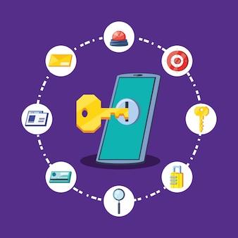 Smartphone-cybersicherheit