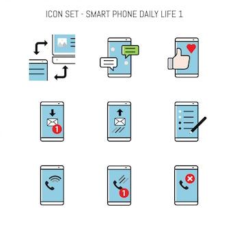Smartphone eingestellt