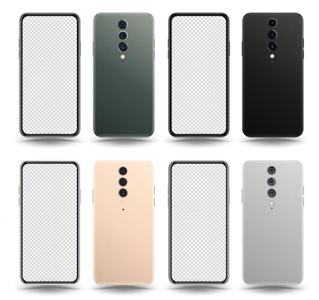 Smartphone hinten und vorne