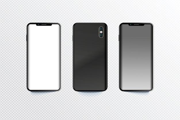 Smartphone in verschiedenen perspektiven