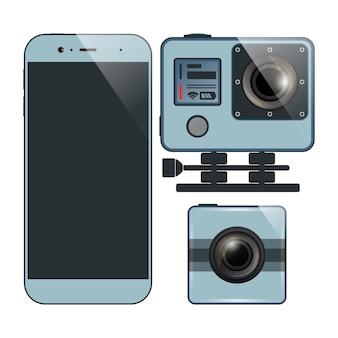 Smartphone-kamera-set
