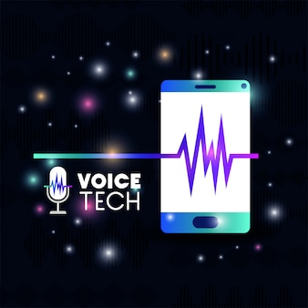 Smartphone mit spracherkennungstechnologie