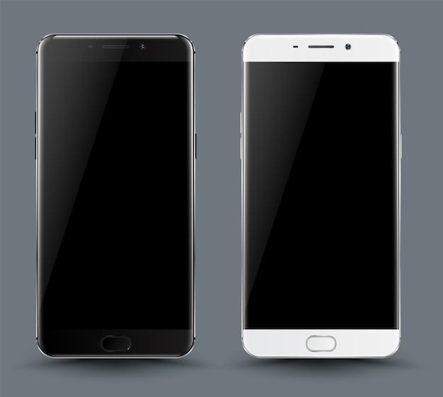 Smartphone-modell-set.